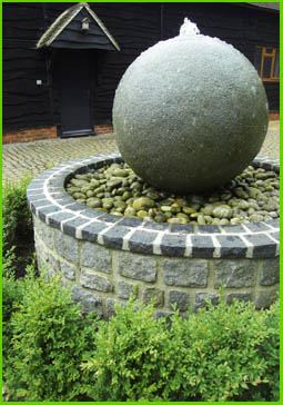 Water feature - Interscape UK landscaping, Farnham