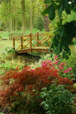 Ornamental Bridge - Interscape UK, Peter Burch Landscapes, Farnham, Surrey